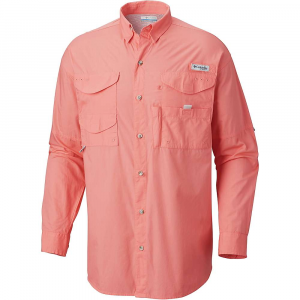 Columbia Men's Bonehead LS Shirt – XS – Salmon