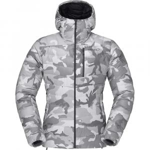 Norrona Women's Lyngen GTX Infinium Down850 Hood Jacket – Medium – Grey / Camo