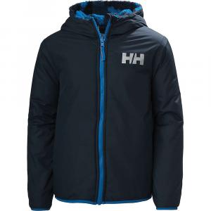 Helly Hansen Juniors' Champ Reverisble Jacket – 16 – Navy Blue Camo