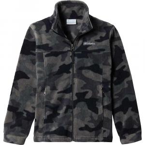 Columbia Toddler Boys' Zing III Fleece Jacket – 2T – Black Trad Camo Print