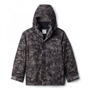 Columbia Boys' Bugaboo II Fleece Interchange Jacket – Medium – City Grey Camo Print / City Grey