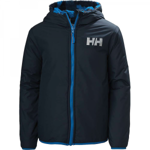 Helly Hansen Juniors' Champ Reverisble Jacket – 14 – Navy Blue Camo