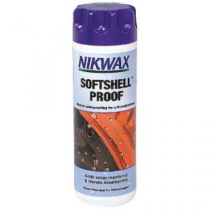 photo: Nikwax SoftShell Proof fabric cleaner/treatment