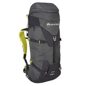 montane torque 40l pack- Save 34% Off - On Sale. Free Shipping. Montane Torque 40L Pack FEATURES of the Montane Torque 40L Pack Constructed from lightweight Raptor TL fabric in the main body which is tough yet exceptionally lightweight. Features a superb DWR and tear resistance Raptor UTL ultra tough, lightweight panels on the base, 'Dual Tool' area, upper front, top rear and rear sides for additional abrasion protection against rock surfaces Granite Stretch skirt lid side panels give a clean fabric hugging lid closure and additional storm protection with a sleek shape Moulded Montane 'Comfort Back Pad' features channels that wick sweat and rainwater away from the body and give additional ventilation 'VertErgo Climb' back system provides strength, support and comfort when carrying heavy loads It can be also be manipulated to fit the user's back for a specific tailored fit Removable 'VertErgo Climb' panel helps reduce weight if extreme weight saving and minimalism is required Features an HDPE stiffened panel across the top of the back panel which provides structure for top tension straps to torque off Stiffened panel is scooped to allow for head and climbing helmet space Two top shoulder tension straps allow the pack weight to pull close to the body and control the pack stability for the required terrain Removable hip belt prevents interference with climbing harness belt and can be used as additional compression in the middle of the pack during long climbs Two lightweight, tough buckles release hip belt from the pack Includes a removable bivvy mat that is folded lengthways, reducing crease lines and helping to eliminate cold spots as well as provide a larger sleeping area Waterproof shell friendly 'Contact Mesh' on the shoulder straps and Montane 'Comfort Back Pad' facings prevent abrasion on shell clothing when the pack is full to capacity and with heavy use Enhanced 'Dual Tool' reversed clean technical ice axe attachment system with tight locking compression straps to safely lock down axes when not in use Ice axes can be reversed to an 'Alpine safe' position for increased safety when moving quickly or under tilted movement Large top 'buddy pocket' for front access whilst on the move, perfect for storage of guide books etc. and large enough for the storage of an OS map Large flap over buddy pocket to protect zip against upward abrasive movement over rock surfaces Extendable top lid with compression straps for increased height to accommodate bulky rope coil etc. Chest harness with left hand clip prevents bulky buckles over the sternum and increases comfort with its low profile Four symmetrical single hand side pulls offer effective compression around pack contents and help provide additional stability Stiffened front lid panel with lightweight glove and mitt friendly metal buckle that will also work in extreme cold and hostile conditions Space saving efficient top lid front pull allowing for good vertical pack compression Wide mouth central opening with 'Cord Lord' quick release mechanism Extendable internal top sleeve for extra storm protection of contents with double compression on outside opening and internal sleeve opening with 'Cord Lord' quick release mechanism Internal top compression over mouth opening for secure rope storage Reversible mitt and glove friendly locking webbing buckles Body curve hip fins for great comfort and strong stability when on the move whatever the terrain Double tension waist harness for extra stability, pack weight equalization and ease of use while on the move Internal security pocket featuring vertical upside down zippered entry preventing coin and key loss. Also features a key clip Left and right hip gear loops for clipping spare hardw