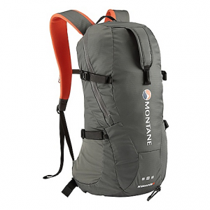 montane anaconda 18l pack- Save 27% Off - On Sale. Free Shipping. Montane Anaconda 18L Pack FEATURES of the Montane Anaconda 18L Pack Constructed from Raptor TL fabric in the main body which is tough yet exceptionally lightweight featuring a superb DWR and tear resistance Raptor UTL ultra tough, lightweight base panel prevents abrasion against rock surfaces Moulded Montane 'Comfort Back Pad' features channels that wick sweat and rainwater away from the body and give additional ventilation Waterproof shell friendly Contact Mesh and Montane 'Comfort Back Pad' facings prevent abrasion on shell clothing when the pack is full to capacity and with heavy use Attachment point for walking poles or single ice axe Large double zippered side and top opening entry point to main pack body for excellent access to contents Features internal storm flap behind all zippers to reduce water ingress and drainage holes at each end of zippered opening Large front easy grab handle for lifting pack from the ground Flat chest harness with left hand clip prevents bulky buckles over the sternum and increases comfort Symmetrical single hand side compression pulls to really lock down pack contents Reversible locking webbing buckles Double tension waist harness for extra stability and pack weight equalization when moving fast Right hand side Granite Stretch tough bucket side pocket for water bottle Internal security zippered pocket Front central and arm harness gear loops Includes webbing and drawcords that can be affixed to front loops for additional stretch front storage Quality nylon webbing used throughout H2O top right tube opening and internal bladder storage Arm harness H2O tube attachment Montane custom made glove and mitt friendly zip pulls Top load easy grab handle 360Adeg 'Dusk Till Dawn' head torch reflectivity at lower rear of pack in optimum position Activities: Trail Running / Alpine / Mountain Walking / Biking / Travel