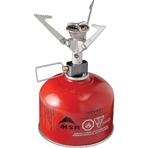 msr microrocket stove- Save 16% Off - On Sale. Free Shipping. MSR MicroRocket Stove FEATURES of MSR MicroRocket Stove Weighs just 73 g (2.6 oz.) MSR's smallest stove; double-folding pot supports allow itto fit into MSR Insulated Mugs or the included case Boils one liter of water in just 3.5 minutes Focused burner head and WindClip protectionboost reliability in breezy conditions Included hand-held igniter features protectedelement in fuel-gathering tube for reliable ignition Compact: Folding legs pack exceptionally small, fitting into an MSR Insulated Mug Strong: Robust pot supports offer excellent stability