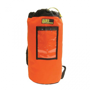 sterling rope rope bag- Save 15% Off - On Sale. Sterling Rope Rope Bag FEATURES of the Sterling Rope Rope Bag Featuring padded backpack straps for easy hauling Durable nylon Bottom grommet for drainage A clear front pocket to store a rope log A rope cinch closure Approximately 400' of 1/2in. rope will fit in the large bag and 200' in the small