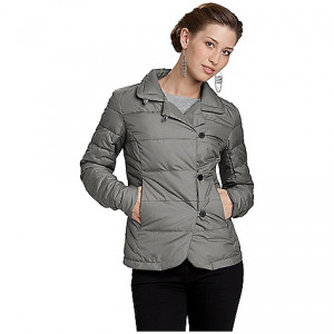 nau women's down blazer check jacket- Save 40% Off - On Sale. Free Shipping. Nau Women's Down Blazer Check Jacket FEATURES of the Nau Women's Down Blazer Check Jacket Insulation - 800 fill goose down Asymmetrical 4 button front Button tab on collar for neck coverage 2 zip hand pockets Shaped sleeve hem