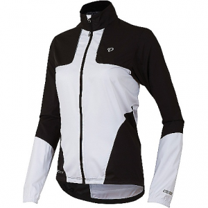 pearl izumi women's elite barrier jacket- Save 36% Off - On Sale. Free Shipping. Pearl Izumi Women's Elite Barrier Jacket FEATURES of the Pearl Izumi Women's Elite Barrier Jacket Elite Barrier fabric provides superior wind protection and water resistance Direct-Vent back provides superior ventilation Full length internal draft flap with zipper garage seals in warmth One hand pull elastic draw cord at waist with welded, reinforced exit point One zippered back pocket Reflective elements for low-light visibility