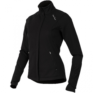 pearl izumi women's fly softshell run jacket- Save 46% Off - On Sale. Free Shipping. Pearl Izumi Women's Fly Softshell Run Jacket FEATURES of the Pearl Izumi Women's Fly Softshell Run Jacket Stretch Thermal Wind blocking fabric provides optimal wind protection, warmth and breathability for high aerobic outputs Thermal Fleece fabric strategically paneled to deliver superior breathability, moisture transfer and warmth 2 zippered hand pockets keep your fingers warm, while providing storage for small essentials Internal fist mitts seal in warmth Full-length internal draft flap with zipper garage keeps cold air out