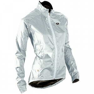 sugoi women's zap bike jacket- Save 30% Off - On Sale. Free Shipping. Sugoi Women's Zap Bike Jacket FEATURES of the Sugoi Women's Zap Bike Jacket Introducing Pixel, a fully reflective waterproof fabric designed for high visibility in low light conditions Drop tail for lower back and seat coverage from tire spray Waterproof front zip and fully taped seams for additional protection from the elements Rear velcro closure pocket for stowing ride essentials Wind resistant Breathable fabric Waterproof