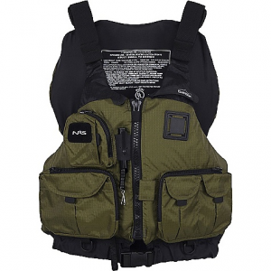 nrs chinook mesh back fishing pfd- Save 15% Off - On Sale. Free Shipping. NRS Chinook Mesh Back Fishing PFD FEATURES of the NRS Chinook Mesh Back Fishing PFD Designed with anglers in mind, the Chinook features 7 front pockets for everything from small tackle boxes to tippet Perfect for kayak fishing, fly fishing and extended tours! The mesh lower back is a great fit on high-back seats and provides ventilation when the weather's warm The roomy front-entry design with 8 adjustment points lets you customize the fit for comfort and security Soft PlushFIT foam flotation conforms to your body as you wear it for unsurpassed comfort A coil tool retractor allows you to clip on line snips, forceps or other tools that you want to have handy Includes a D-ring on the back for attaching your net, plus a strobe holder loop for those low light conditions Other outstanding features include rod holder loops, a knife lash tab, and multiple D-rings and attachment loops Fishing tool retractor Net attachment D-ring Back strobe holder loop Multiple D-rings and attachment loops