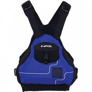 nrs ninja pfd- Save 29% Off - On Sale. Free Shipping. NRS Ninja PFD FEATURES of the NRS Ninja PFD The Ninja's athletic design won't interfere with paddling, rowing or swimming Four side adjustments and two shoulder adjustments provide a custom fit Great for boaters with short torsos, who may have a difficult time wearing more conventional life vests Soft PVC-Free foam flotation panels are shaped for comfort A floating front panel adjusts to your body's shape and gives you a warm place to put your hands when it's chilly The side entry is secured by quick release buckles, making it easy to put on and take off A front mesh pocket secured with a quick release buckle holds the essentials The 500-denier Cordura shell wears like iron Soft, stretchy fabric on the inside lets the Ninja PFD flex, and enhances breathability One well placed lash tab holds your rescue knife Design flotation: 16.5 lbs