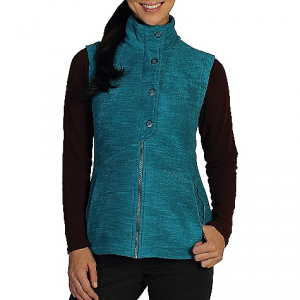 exofficio women's calluna fleece vest- Save 57% Off - On Sale. Free Shipping. ExOfficio Women's Calluna Fleece Vest FEATURES of the ExOfficio Women's Calluna Fleece Vest Crossover snap front closure Security zip pocket Thumb loops High warmth to weight Odor resistant Wicking