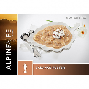 photo: AlpineAire Foods Bananas Foster dessert