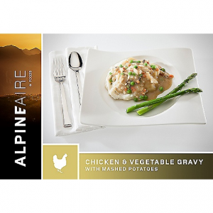 AlpineAire Foods Chicken & Vegetable Gravy with Mashed Potatoes