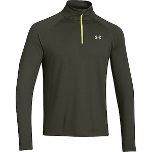 under armour men's heatgear flyweight run 1/2 zip top- Save 24% Off - On Sale. Free Shipping. Under Armour Men's Heatgear Flyweight Run 1/2 Zip Top FEATURES of the Under Armour Men's Heatgear Flyweight Run 1/2 Zip Top Ultra-soft, light but still substantial fabric provides just the right warmth between the extremes Signature Moisture Transport System wicks sweat away from the body Anti-odor technology prevents the growth of odor causing microbes Graphics and logos provide 360Adeg reflectivity for safer low-light runs Drop tail hem