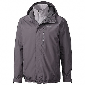 marmot men's ramble component jacket- Save 35% Off - On Sale. Free Shipping. Marmot Men's Ramble Component Jacket FEATURES of the Marmot Men's Ramble Component Jacket Marmot membrain waterproof/breathable fabric 100% seam taped 2-layer construction Attached adjustable hood Zip hand pockets Chest pocket with water-resistant zip Removable 100wt fleece liner Internal zippered pocket Elastic drawcord hem Adjustable velcro cuffs Angel-wing movement