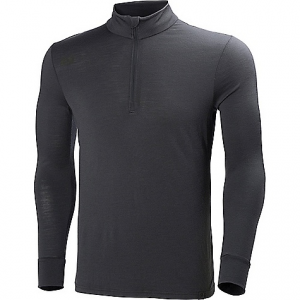 photo: Helly Hansen Men's HH Wool LS 1/2 Zip base layer top