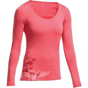 photo: Icebreaker LS Siren Sweetheart base layer top