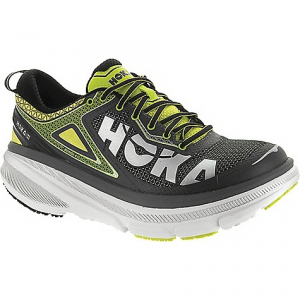 hoka one one men's bondi 4 shoe- Save 28% Off - On Sale. Free Shipping. Hoka One One Men's Bondi 4 Shoe FEATURES of the Hoka One One Men's Bondi 4 Shoe Lycra comfort frame upper TPU external heel counter provides support Early-stage Meta-Rocker provides propulsion Full EVA midsole provides signature bondi cushioning 10 Deg heel bevel provides smooth heel transition Flat-Waisted geometry provides inherent stability Strategic rubber placement provides durability Engineered midsole volume which is up to 2.5X the volume than standard running shoes, made with performance-specific cushioning material to absorb shocks and give you the stability you need Meta-Rocker midsole geometry, specifically engineered with a low heel-toe differential and a sculpted outsole radius in the heel and toe, creates a unique fulcrum effect and encourages a guided foot gait cycle Active Foot Frame midsole geometry allows the foot to sink deeply into the shoe's midsole