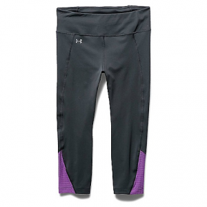 under armour women's fly by run capri- Save 24% Off - On Sale. Free Shipping. Under Armour Women's Fly By Run Capri FEATURES of the Under Armour Women's Fly By Printed Capri Super-light HeatGear fabric delivers superior coverage without weighing you down Signature Moisture Transport System wicks sweat to keep you dry and light Lightweight, 4-way stretch construction improves mobility and maintains shape Anti-microbial technology keeps your gear fresher, longer Ergonomic flatlock seams deliver a comfortable, chafe-free fit Wide, flat waistband with internal continuous drawcord Water-resistant side zip pocket Super-breathable mesh leg panels to dump excess heat Reflective logos deliver greater visibility on low-light runs