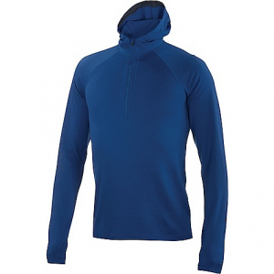 photo: Ibex Hooded Indie long sleeve performance top
