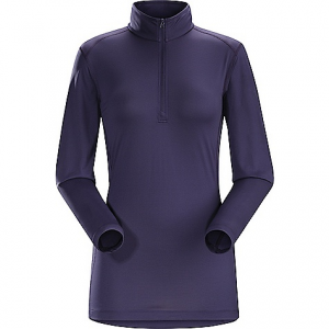 photo: Arc'teryx Women's Phase SL Zip Neck base layer top