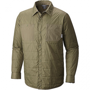 photo: Mountain Hardwear Trekkin Insulated Shacket synthetic insulated jacket