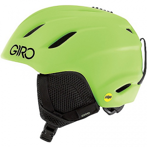 giro kid's nine jr. mips snow helmet- Save 20% Off - On Sale. Free Shipping. Giro Kid's Nine Jr. MIPS Snow Helmet FEATURES of the Giro kids' Nine Jr. MIPS Snow Helmet Removable earpads Seamless compatibility with Giro youth goggles Thermostat control adjustable venting Multi-directional impact protection system Super cool vents Stack ventilation Vertical tuning In form fit system assures a secure fit while adjustable venting regulates airflow to help keep goggles fog-free