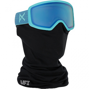 anon women's deringer mfi goggle- Save 19% Off - On Sale. Free Shipping. Anon Women's Deringer MFI Goggle FEATURES of the Anon Women's Deringer MFI Goggle MFI technology has four magnetic connections to easily attach your facemask Snap back strap adjuster is designed to be worn under the helmet, eliminates pressure points from traditional strap adjusters Wall-to-wall vision Over the glasses compatible anon. Cylindrical lens technology Dual layer face foam ICT (Integral Clarity Technology) an anti-fog treatment that ensures clear vision no matter the elements Full perimeter channel venting ensures maximum airflow and helps keep goggles clear and fog-free Lightweight thermoplastic polyurethane frame