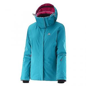 photo: Salomon Women's Brilliant Jacket synthetic insulated jacket