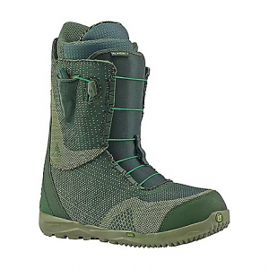 burton men's almighty snowboard boot- Save 19% Off - On Sale. Free Shipping. Burton Men's Almighty Snowboard Boot FEATURES of the Burton Men's Almighty Snowboard Boot Speed Zone Lacing System: Speed zone lacing features streamlined, re-profiled lace guides and jam cleats on all models, increased performance and greater durability. lacing control. More power and more rebound, wrap and response with less lacing effort. New england rope laces 1:1 Firm Flex PowerUP Tongue: greater rebound and durability, dual density tongue construction. 3D Molded Tongues, three flex options based on the boot. greater response, thermoplastic-reinforced Powerup and tongue on the Driver X Shrinkage Footprint Reduction Technology: Shorter, lighter, sleeker-never suffer from toe drag again DynoBITE EST Optimized Outsole: Cushioning in heat-reflective foil to keep it cushy and effective in cold weather, the dynobite outsole features an extra layer of traction at the forefoot and heel for greater grip. Dyno outsole, dynobite provides lightweight, durable cushioning that's formulated specifically for snowboarding, 10-15% recycled rubber content lighter ReBounce Cushioning: Comfort and more warmth, new rebounce cushioning. Two layer 3d laminate of cushy pu plus reflective material, heat inward. slx, ion, new ion leather, hail restricted, and supreme Sleeping Bag Reflective Foil: Lightweight underfoot technology reflects heat back to the feet, improving both warmth and comfort when faced with cold conditions. Exclusive to the felix and new ritual Total Comfort Construction: Total comfort's industry-exclusive construction eliminates the break-in period for a fit that feels just as good from day 1 to 100 Snow-Proof Internal Gusset: Boot tongues feature an internal gusset construction to completely seal the lower zone of the boot, keeping feet warm and dry Level 2 Molded EVA Footbed: Lightweight and long-lasting shock absorption ESS Support Shank: The added support reduces fatigue while preventing 