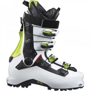 dynafit beast carbon ski boot- Save 25% Off - Features of the DynaFit Beast Carbon Ski Boot Precision lock system guarantees precise power transmission Engineered to ski deep powder with minimal speed loss and to lessen the effect of unexpected impacts Lambda frame provides lateral and front rigidity Master Step Insert enables easier entry by 50%