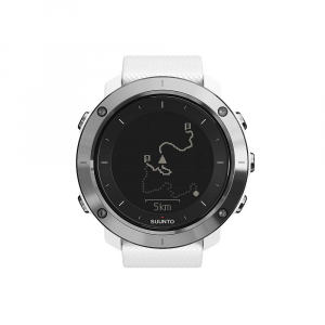 suunto traverse gps watch- Save 25% Off - The Suunto Traverse GPS Watch is an everyday companion that turns into an adventurer's watch as soon as you hit the trail. In the office this watch provides up-to-date push notifications right to your wrist, so even during those boring work meetings you can check who is calling or texting without your boss being any the wiser. The clean look won't be out of place, and it will even count your steps and calories, so you can maintain leg strength for the weekend. The real fun begins when you ditch the office and step onto the mountain trail, as the GPS function helps navigate far from the clogged world of cars and work. Plan your route pre-adventure, grab a map and log mile after mile. This little wonder will also measure altitude, distance, and vertical speed with 100 hours of battery life. Take a possible wrong turn at the gnarly, twisted tree back there in the dark? Hit the flashlight mode button on your watch and light up your topo map and compass to check your bearings. The adventurer eventually has to return to a daily life in the city, and this watch will seamlessly blur the lines between the two. Features of the Suunto Traverse GPS Watch Proudly made and tested in Finland Has activity monitoring, which estimates daily steps and calories. Counting steps is so fun. Find your way easily with integrated GPS navigation Battery is rechargeable Lithium Ion. So great. Up to 100 hours of battery life, with sunset and sunrise times and storm alarm Bluetooth Smart radio communication For route navigation there is 50 routes, forward and backward navigation Battery life in time mode: 14 days The bread crumb trail is automatic, and shown while activity recorded There Are sport specific metrics you can use, via Suunto Apps Supported satellite systems: GPS and Glonass via SIRFStarV chip Languages: EN, CS, DA, DE, ES, FI, FR, IT, JA, KO, NL, NO, PL, PT, RU, SV, ZH Enrich, Relive and shAre Take photos during your Move showing your curren