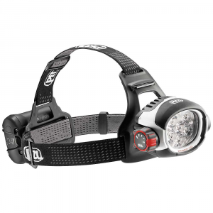 petzl ultra rush headlamp- Save 25% Off - Features of the Petzl Ultra Rush Headlamp Ultra-powerful uniform lighting up to 760 lumens Long-distance beam up to 170 meters Constant lighting guarantees Performance that doesn't diminish for the entire life of the battery (when the battery is almost depleted, it switches to reserve lighting) Mixed beam with four lighting levels allows the user to choose between power and battery life according to his needs ACCU 2 ULTRA Lithium-Ion High-Performance rechargeable battery (2600 mAh)offers the perfect balance between capacity and compactness, making it comfortable on the head Lithium-Ion Technology for excellent Performance at low temperatures- energy gauge on the battery Quick charger included (completely charged in 3 hours) Rotating selector knob is easy to use, even with gloves, allowing easy access to different modes Quick connection system allows quick and easy removal of battery Light flashes to signal switch to reserve lighting mode Front and back comfort plates with adjustable elastic headband for an excellent Fit on the head Waterproof to -1 m for 30 minutes Excellent resistance to falls, to impacts and to crushing