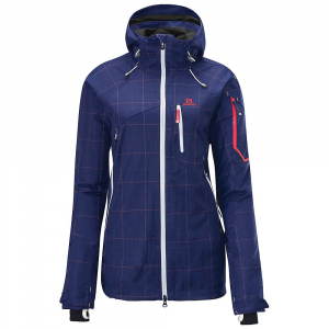 photo: Salomon Women's Foresight 3L waterproof jacket
