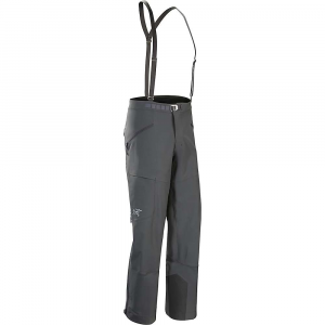 arcteryx men's procline fl pant- Save 34% Off - Features of the Arcteryx Men's Procline FL Pant Burly Double Weave four-way stretch Softshell is durable, air permeable, weather resistant Glove and harness friendly, low profile metal waistbelt adjuster Low profile adjustable suspenders Are removable Side zip ventilation with stretch mesh backer allows excess heat and sweat to escape Two zippered hand pockets, one harness compatible tHigh dump pocket with flap on the right leg Keprotec patch helps reduce edge cuts Zippered hem gusset helps to accommodate various boot volumes, PowderCuff with gripper elastic keeps Snow out of the pant Keprotec instep patches provide superior protection against damage by boots, crampons and ski edges Articulated patterning for unrestricted mobility and gusseted crotch