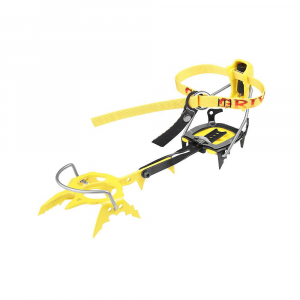 grivel g20 cramp-o-matic crampons- Save 20% Off - Features of the Grivel G20 Cramp-O-Matic Crampons A well known system which relies on a nylon speed lever in the rear Stainless steel front bale to hold the boot Quick to put on Perfect for plastic mountaineering boots that have a rigid sole and substantial heel and toe welts The stainless steel safety strap, which was invented by Grivel, is permanently mounted on the front bale Prevents total loss of the crampon should it be forced off the boot