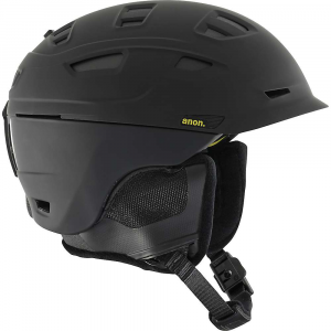 anon men's prime mips helmet- Save 25% Off - Features of the Anon Men's Prime MIPS Helmet Multidirectional impact protection system Expedition fleece on liner and ear pads Fidlock snap helmet buckle Audio accessory compatible