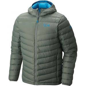Mountain Hardwear Men's Micro Ratio Hooded Down Jacket