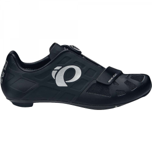 pearl izumi men's elite rd iv shoe- Save 30% Off - Features of the Pearl Izumi Elite Men's RD IV Shoe Fully bonded Upper eliminates uncomfortable seams and hotspots Bi-directional Closure: Delivers a semi-custom Fit by gathering equally from both sides for even foot retention with the precision of a micro-adjustable Boa reel Integrated boa lace guides allows for an extremely low profile Upper that excellent pressure distribution Elite 1: 1 Power Plate: Elite Grade Uni-Directional Carbon for ultra-light stiffness Direct-Vent Technology for cooling and drainage Oncave shaping for ultra low 7.0 mm stack height, enhanced plate stiffness and anatomic support and built in Longitudinal Arch Support for optimal power and efficiency Now with replaceable heel bumper