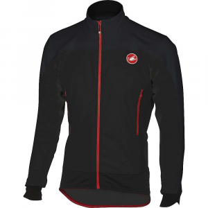 castelli men's mortirolo 4 jacket- Save 35% Off - Features of the Castelli Men's Mortirolo 4 Jacket Gore Windstopper X-Fast fabric on front is windproof and water-resistant Back in Warmer to prevent overheating Front zippered chest vents Silicone gripper at waist keeps jacket from riding up YKK Vislon zipper 3 External rear pockets Reflective stripe on back to keep you visible in low-light conditions