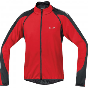 gore bike wear men's phantom 2.0 windstopper soft shell jacket- Save 19% Off - Features of the Gore Bike Wear Men's Phantom 2.0 Windstopper Soft Shell Jacket Stretch inserts for optimum freedom of movement 3-Compartment patch pockets on back Slightly slanted back pocket at side for better access Zip-under-flap Wear-resistant elastic binding on sleeve-hem and on hem Detachable raglan sleeves Additional short sleeves Reflective print on sleeves Reflective print on back Reflective logo on front and back
