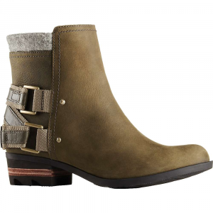 Sorel Women's Lolla Boot: Save 31% Off - Features of the Sorel Women's Lolla Boot Upper: Waterproof full-grain leather and felt Upper Synthetic and canvas lining Footbed: Removable molded EVA Footbed with heel cup and arch support, canvas topcover Midsole: Molded rubber Outsole: Molded rubber Outsole; leather wrapped heel