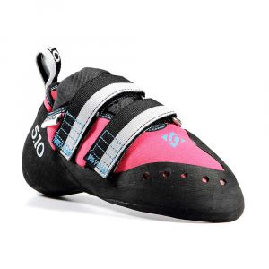 five ten women's blackwing climbing shoe- Save 24% Off - Features of the Five Ten Women's Blackwing Climbing Shoe Stealth Hf Rubber - Super sticky, it conforms to even the smallest edges Medium stiff Midsole Synthetic Upper Downturned toe Velcro closure