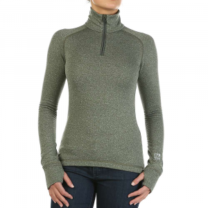 Image of 66North Women's Grimur Powerwool Zip Neck Top