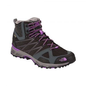 the north face women's ultra hike ii mid boot- Save 48% Off - Features of The North Face Women's Ultra Hike II Mid Boot Upper: TPU cable housing provides rugged, protective midfoot support PU-coated leather overlays for protection and support Waterproof, breathable Gore-Tex membrane Rubberized toe cap and screens for toe and metatarsal-head protection Sole Unit: New hike-specific Cradle GUIDE Midsole with bottom-loaded PU and an EVA top layer provides resilient load-bearing support and plush next-to-foot comfort Updated ultra protect Cradle Technology provides proper heel support Vibram megagrip Outsole for durable sticky traction in all conditions Ultra Protect shank plate in the midfoot for torsional rigidity and consistent underfoot feel
