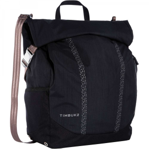 timbuk2 lux pannier pack- Save 28% Off - Features of the Timbuk2 Lux Pannier Pack Subtle reflective print for hi-vis in low light Dual side stretch pockets Fit water bottles or U-lock Roll-top closure with adjustable compression straps keep all weather out Internal drop liner with waterproof seam tape construction