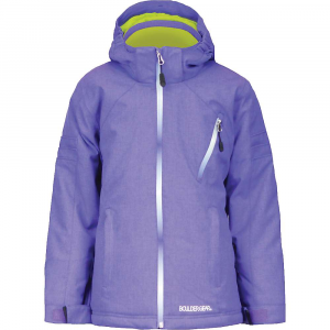 boulder gear girls' swish jacket- Save 20% Off - FEATURE of the Boulder Gear Girl's Swish Jacket Critical seam sealed Ombre center front zipper Ombre chest pocket Ombre lower back right hip pocket Detachable hood Side ventilation Internal wrist cuffs Internal waist gaiter Intergrated internal storage(media/mobile/wallet) Quick adjust hem cinch cord Boulder Gear trims and embroideries